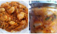 Фасолі, морква і цибуля — Чудовий салат на зиму. Господиням на замітку.