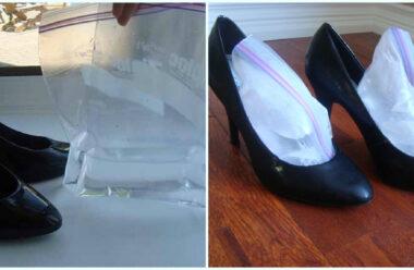 Простий та ефективний спосіб розтягнути взуття в дома. Так воно збільшиться на 10 відсотків в об'ємі.