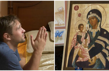 Молитва до ікони Божої Матері «Шуйська-Смоленська». У неї просять здоров'я і захисту від біди.