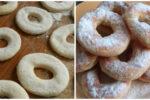 Смачнющі пончики на кефірі «П'ятихвилинка». Готувати їх просто та дуже швидко.