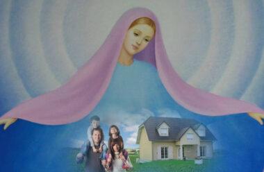 Молитва до Діви Марії, про захист родини та будинку від усіх негараздів.