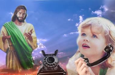 Повчальна притча «Дзвінок до Бога»: що потрібно розказувати Господу, щоб у вашому житті було все добре.