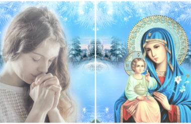 Молитва до Пресвятої Богородиці, щоб рідні були щасливі та здорові в новому році.