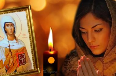 Давня молитва до святої Ніни, що допомагає позбутися від будь-яких недуг