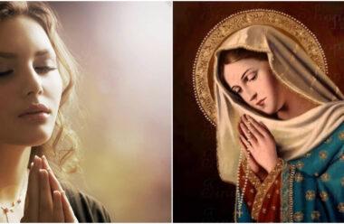 Віршована молитва до Матінки Божої, щоб отримати заступництво і допомогу