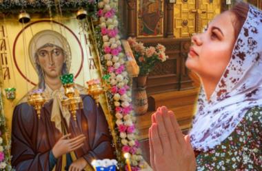 Дві молитви до святої Ксенії, про здоров'я та благополуччя в сім'ї.