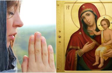 Молитва до ікони Божої Матері «Виховання», щоб захистити своїх дітей.