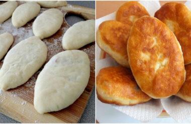 Пухкі та ніжні домашні пиріжків зі смачною начинкою. Їх з'їдають ще гарячими