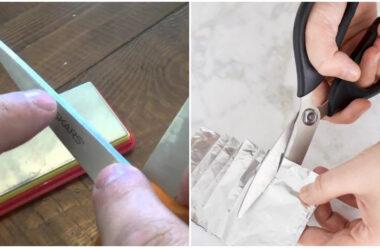 Прості та дієві способи, щоб загострити ножиці власноруч