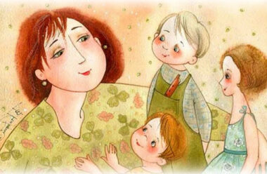 Коротенька, але дуже мудра притча, про любов матері до своїх дітей.