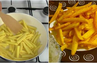 Картоплі фрі, яка жариться без краплі олії: дітям можна хоч через день