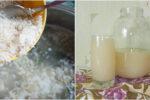 Рисовий квас — корисний напій, який допомагає позбутися остеохондрозу, та зміцнює імунітет