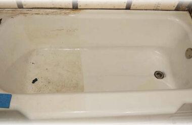 Ефективний та дешевий спосіб очистити ванну від іржі та бруду
