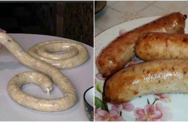 Домашня картопляна ковбаса за простим та смачним рецептом