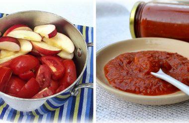 Натуральний домашній кетчуп, який можна навіть дітям