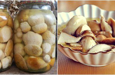 Рецепт маринованих білих грибів. Виходять такі смачні, що важко відірватися