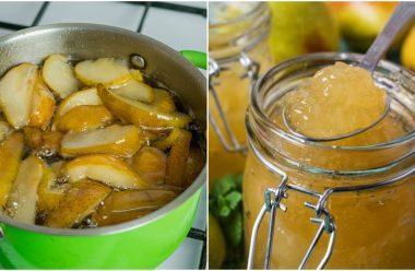 Ароматне варення з груш. Його можна їсти ложками або додавати до випічки й десертів