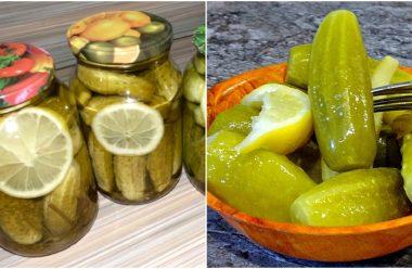 Маринад для консервації огірків з лимоном. Таких смачних огірочків ви ще не пробували
