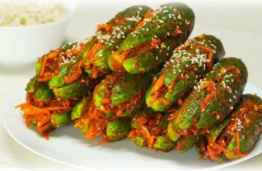 Смачна закуска до будь-якого столу — огірки по-корейськи.
