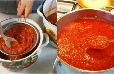 Рецепт приготування томатної пасти на зиму. Виходить дуже смачна, а головне натуральна