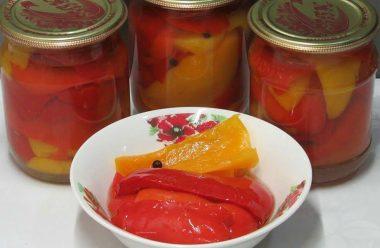 Маринований перець — виходить ароматний, з кисло-солодким присмаком