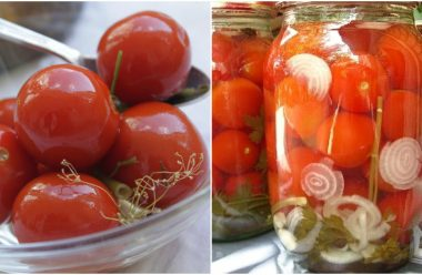 Смачні консервовані помідори по новому рецепту. Встигніть запастися на зиму