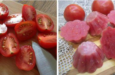 Корисна заготовка томатів на зиму, для приготування різноманітних страв