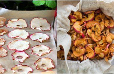 Як правильно сушити та зберігати яблука, щоб вони довго зберігалися та були смачними