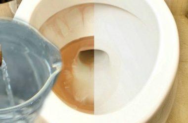 Рецепт засобу для очищення унітаза та ванни від іржі. Коштує дешево, а очищає не гірше від дорогих