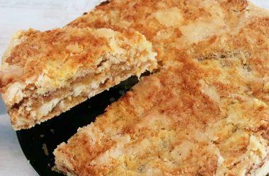 Швидкий та дуже смачний яблучний пиріг. Рецепт, вибирають більшість господинь