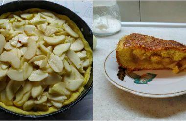 Вдалий рецепт насипного яблучного пирога. Впорається навіть недосвідчена господиня