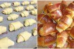 Ароматні та смачні домашні рогалики з повидлом за простим рецептом