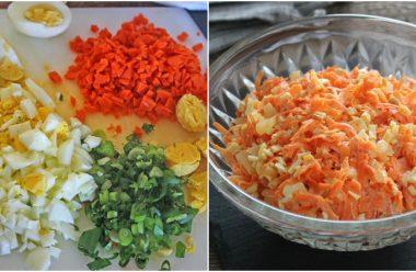 Смачний та дієтичний салат для жінок. Готувати його просто та швидко. Вам сподобається