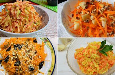 Гарні рецепти салатів із моркви, які стануть смачною стравою на будь-якому столі