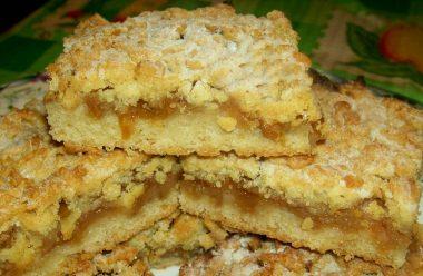 Ніжні тістечка з яблучним повидлом, які нагадають вам смак дитинства