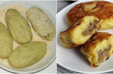 Простий та дуже смачний рецепт приготування картопляних зразів. Рідним сподобається