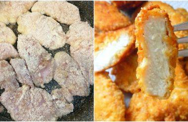 Смачні та соковиті курячі нагетси по-домашньому. Рецепт, який усі так шукають