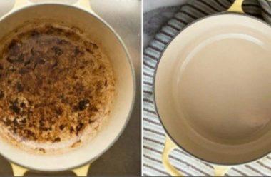Ефективний спосіб, який допоможе відчистити емальований посуд від бруду та накипу