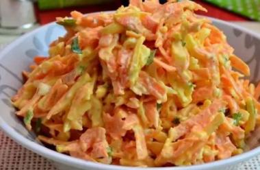 Ситний та пікантний морквяний салат. Всі подруги після того, як скоштують, просять рецепт