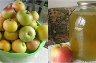 Рецепт яблучного напою, який нагадує магазинний живчик. Встигніть запастися на зиму
