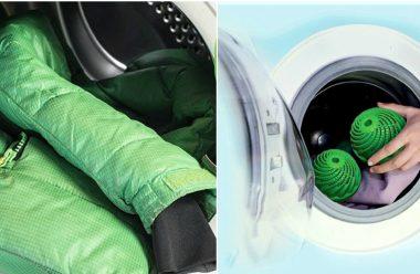 Як правильно прати пуховик в пральній машині, щоб не пошкодити його
