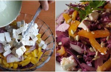 Якщо захотілося чогось новенького та смачного, приготуйте цей святковий салат