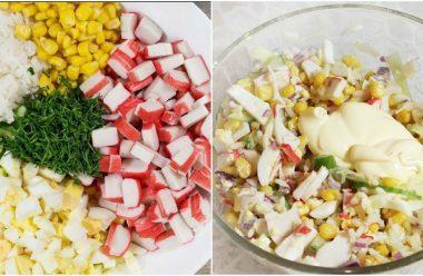 Апетитний салат «Королева столу». Всі хто скоштує, просять дати рецепт