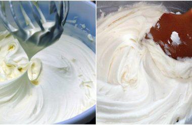 Рецепт зефірного крему, який можна давати до будь-якої випічки. Гарно тримає форму
