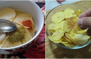 5 рецептів приготування смачних домашніх чіпсів. Можна давати навіть маленьким дітям