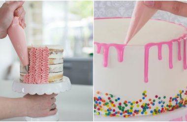 Гарні способи декорування десертів на свято. Стануть у нагоді кожній господині