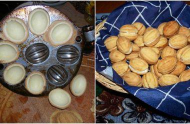 Печиво «Горішки» на варених жовтках. Таких смачних ви вже давно не їли