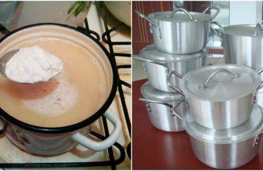 Дешевий та ефективний засіб для миття каструль. Жир і нагар відстає без зайвих зусиль