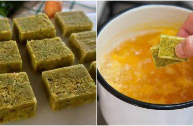 Натуральні бульйонні кубики. Рецепт приготування в домашніх умовах