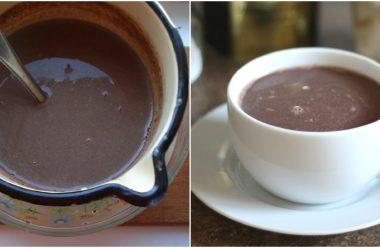 Натуральний та смачний домашній гарячий шоколад. Порадуйте рідних чимось смачненьким